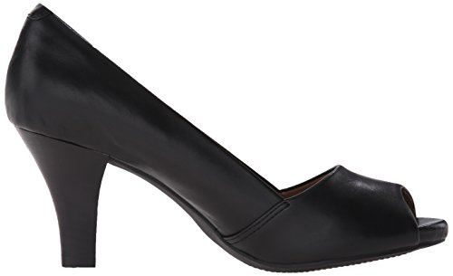 Clarks Women's Florine Kona Dress Pump Black Leather a7D2RQm4a