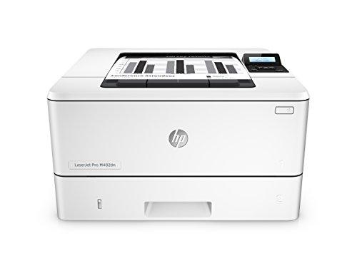 HP LaserJet Pro M402dn (C5F94A) Laserdrucker (Mono Drucker, Duplex, ePrint, Cloud Print, AirPrint, LAN, USB, 1200 x 1200 dpi) weiß