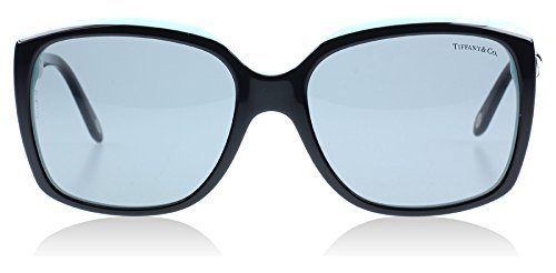 Tiffany 4076 80553F Black 4076 Square Sunglasses Lens Category 2