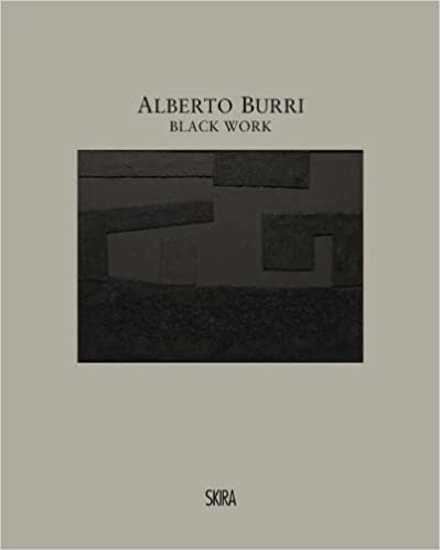 Alberto Burri: Black Work: Cellotex 1972-1992