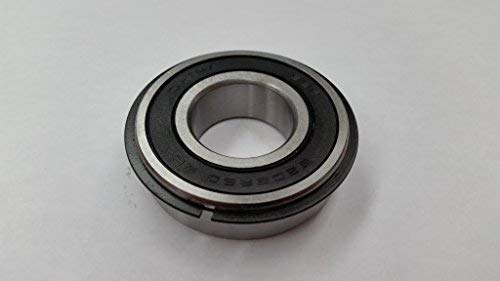 6205-2RS-NR, 25mm x 52mm x 15mm, Two Double Lip Seals, snap Ring, 50 Pack