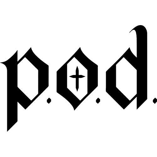 P.O.D. Die-Cut Decal Sticker - Band Logo
