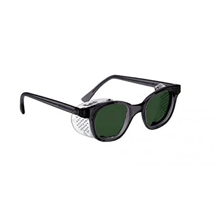 9777feb4547 Image Unavailable. Image not available for. Color  BoroView Shade  5 Brown  Lens - Glass Working Spectacles in Plastic Safety Frame with Permanent