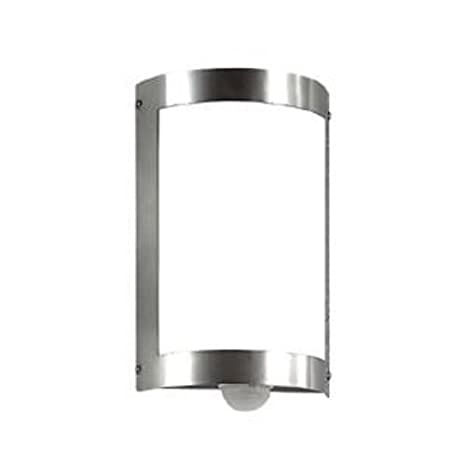 CMD 29/3BM - Luz para la pared (acero inoxidable, sensor de movimiento