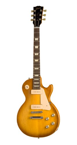 Gibson Les Paul Studio 60s Tribute Electric Guitar, Worn Honey Burst