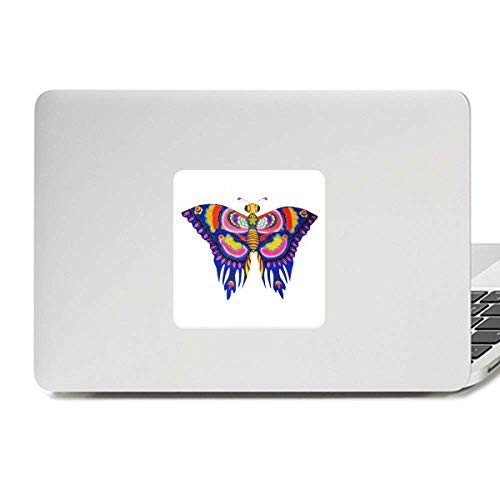 Butterfly Clothing Kite (Traditional Chinese Kite Butterfly Pattern Decal Vinyl Skin Laptop Sticker PC Decoration)