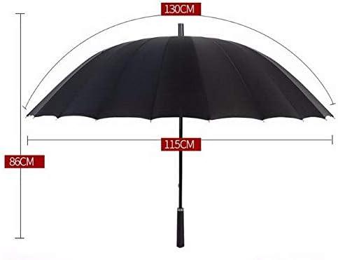 Lanker Grand Parapluie /à La Mode /à Manches Longues Avec Parapluie Droit 24 Uv