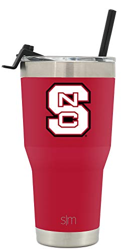 Simple Modern College Tumbler Straw NC State (Nc State University)