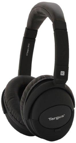 Targus TA-13NCHP Noise-Cancelation Headphones with Case - Black