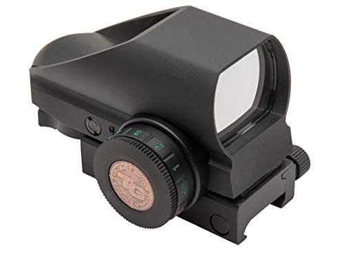 TRUGLO Tru-Brite Red Dot Dual-Color Multi Reticle Black