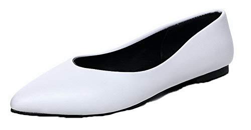 Shoes Mini Hee tsmdh003264 Bianco Women Heeled Pu Heel Aalardom xtqwYn64x