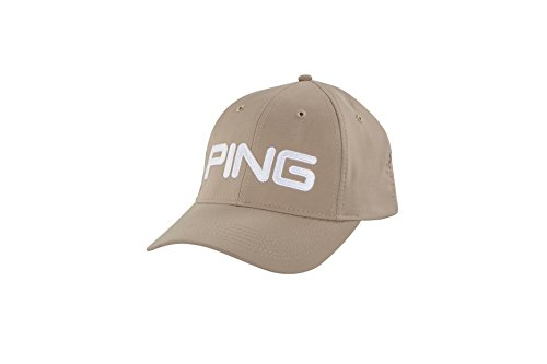 (PING Tour Light HAT 2018- Khaki/White)