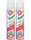 Batiste Instant Hair Refresh Dry Shampoo Plus Spray, Bright and Lively Floral, 6.73 Fl oz (2 Pack)