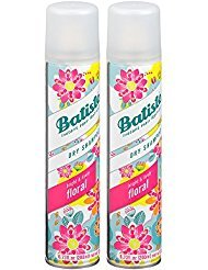 Batiste Instant Hair Refresh Dry Shampoo Plus Spray, Bright and Lively Floral, 6.73 Fl oz (2 Pack) by Batiste