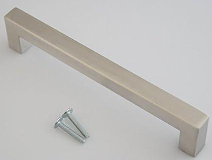 maniglie mobili cucina ba 160mm impugnatura a staffa 14x14mm maniglie mobili acciaio inox 605