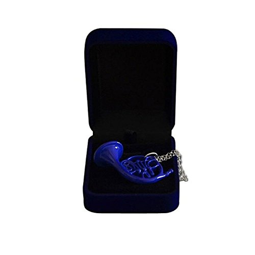 Sinastar How I Met Your Mother-Cosplay-Blue French Horn Pendant Necklace
