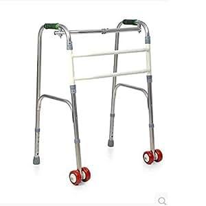 Marco ajustable para caminar El caminante de rehabilitación para personas mayores se puede doblar y transportar fácilmente para ayudar a los pacientes con daño grave en la función de las extremidades