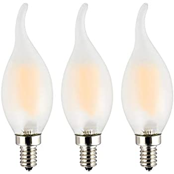 Opalray C35 2w 25w Incandescent Equivalent Led Candelabra