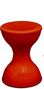 Nilkamal Plastic Iron RED Stool STL 12