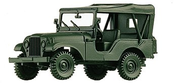 Busch 741323 Willy's Jeep M38 A1 HO Scale Model Tank (M38 Jeep)