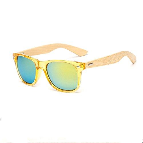 salvajes masculino Uno color de gafas bambú bambú y la de de gafas pies Gafas película sol Shop de femenino de de Gafas sol madera y 6 del p1q4w4