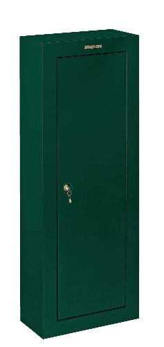 Stack-On GCG-908 Steel 8-Gun Security Cabinet, (Green Gun Safe)