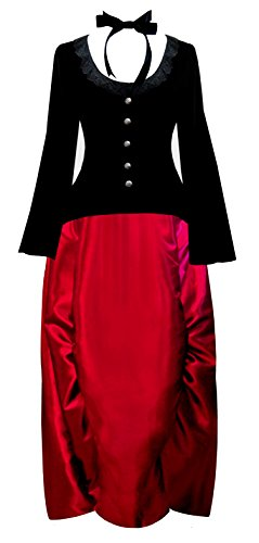 lady antebellum red dress - 1