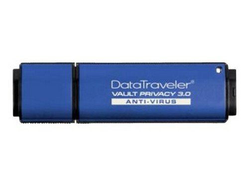 (Kingston DataTraveler Vault Privacy 3.0 Anti-Virus - USB flash drive - 8 GB)