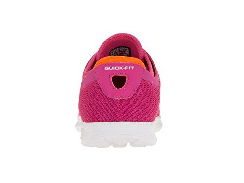 Skechers Performance Damenschuh Schritt Schnürschuh Pink / Orange