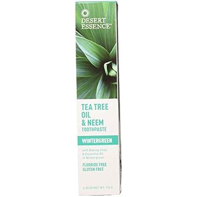 Tea Tree Oil & Neem Wintergreen Toothpaste (3pk)