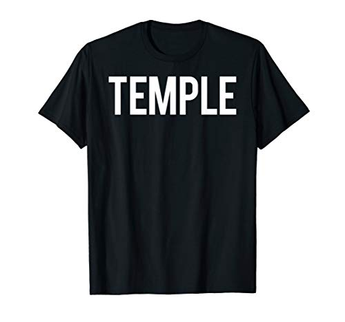 Temple T Shirt Cool Texas TX funny cheap gift tee