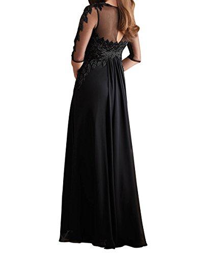 Braut Langarm Brautmutterkleider Festlichkleider Etuikleider Lang mia Abendkleider Partykleider Weinrot La Perlen 2018 Neu pxAICCwq