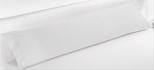 ForenTex - Funda de Almohada, (BX-1531), Cama 150 cm, 160 x 45 cm, Blanco, 100% Microfibra, maxima transpiracion y fresc