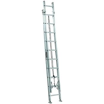Amazon Com Louisville Ladder Fe3224 Fiberglass Extension