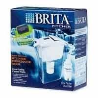 Brita 42364 Space Saver Water Filter Pitcher