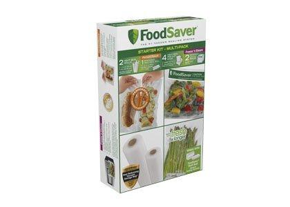 FoodSaver Multi-Pack Vacuum-Seal Bags & Rolls Starter Kit FS