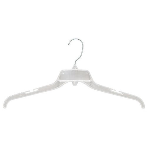 100 Pc New or Retail Clear finish Shirt/Dress Hanger 19 inch by Hanger