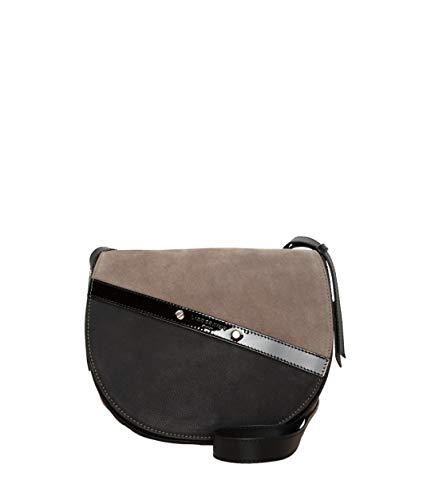 Liebeskind Hombro De Negro Helmet Hecrossbm Bolso gris Patent rqXr8wz