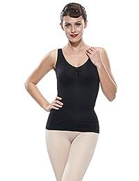 Franato Women's Firm Tummy Control Shapewear Camisole Tops