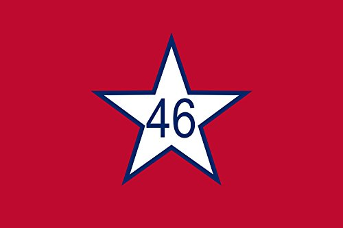 magFlags Large Flag US State of Oklahoma from 1911 to 1925 | landscape flag | 1.35m² | 14.5sqft | 90x150cm | 3x5ft - 100% Made in Germany - long lasting outdoor flag