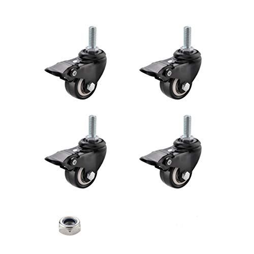 "SungMi 4 Pack 2"" Heavy Duty Caster Wheels"