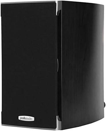Polk Audio RTI A1 Bookshelf Speakers Pair, Black