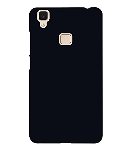 info for 4d461 17544 Vivo V3 Max Plain Black Hard and Stylish Back Cover or: Amazon.in ...