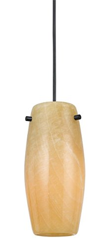 Cal PN-1096/9-BS One Light Pendant, Brushed Steel Finish