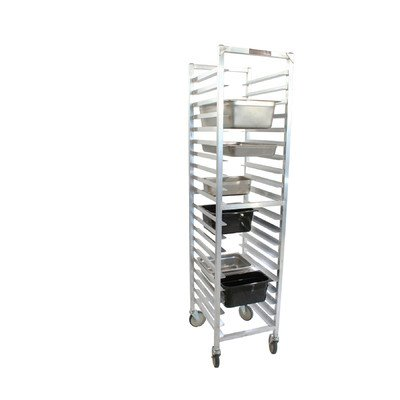 "PVIFS WE5020KD-SP Knock-Down Steam Table Pan Rack, Full Size 10 Pan Capacity, 20"" Length x 17"" Width x 71-1/2"" Height"