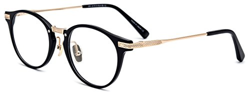 FONEX 100% Pure Titanium Acetate Prescription Myopia Optical Glasses Frame 2078 - Titanium Acetate