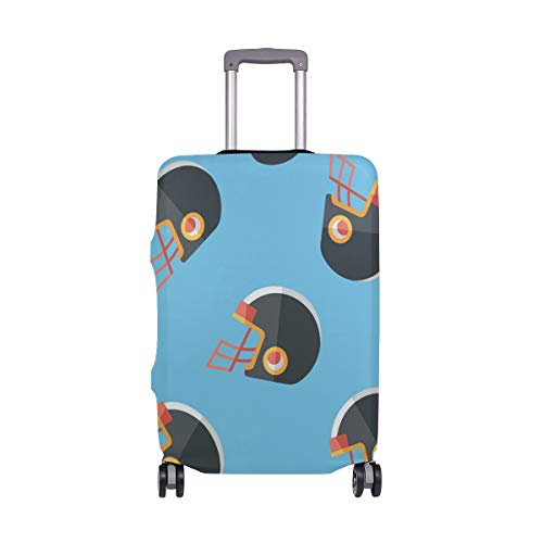 - DEZIRO American Football Helmet Flat Icon Luggage Cover Baggage Cover