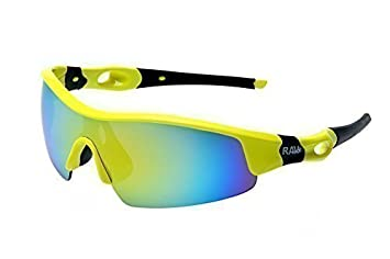 RAVS LUNETTES DE SPORT - LUNETTES POUR VÉLO Triathlon - Volleyball - Extrème Ski Lunettes de soleil Super Flash Anti-reflets F7wUq6Dw