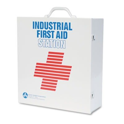 PhysiciansCareamp;reg; - Industrial First Aid Kit for 100 People, Contains 721 Pieces - Sold As 1 Each - Heavy duty steel cabinet is appropriate for a professional office yet durable enough for an industrial or manufacturing setting.
