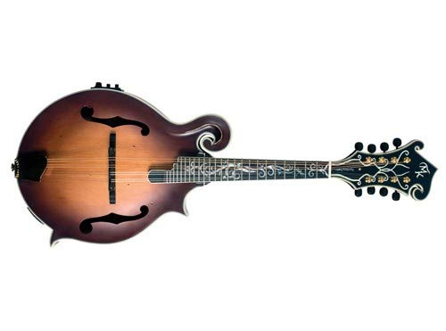 Michael Kelly MKLDFEAVS Legacy Dragonfly Flame Mandolin, Antique Violin Satin